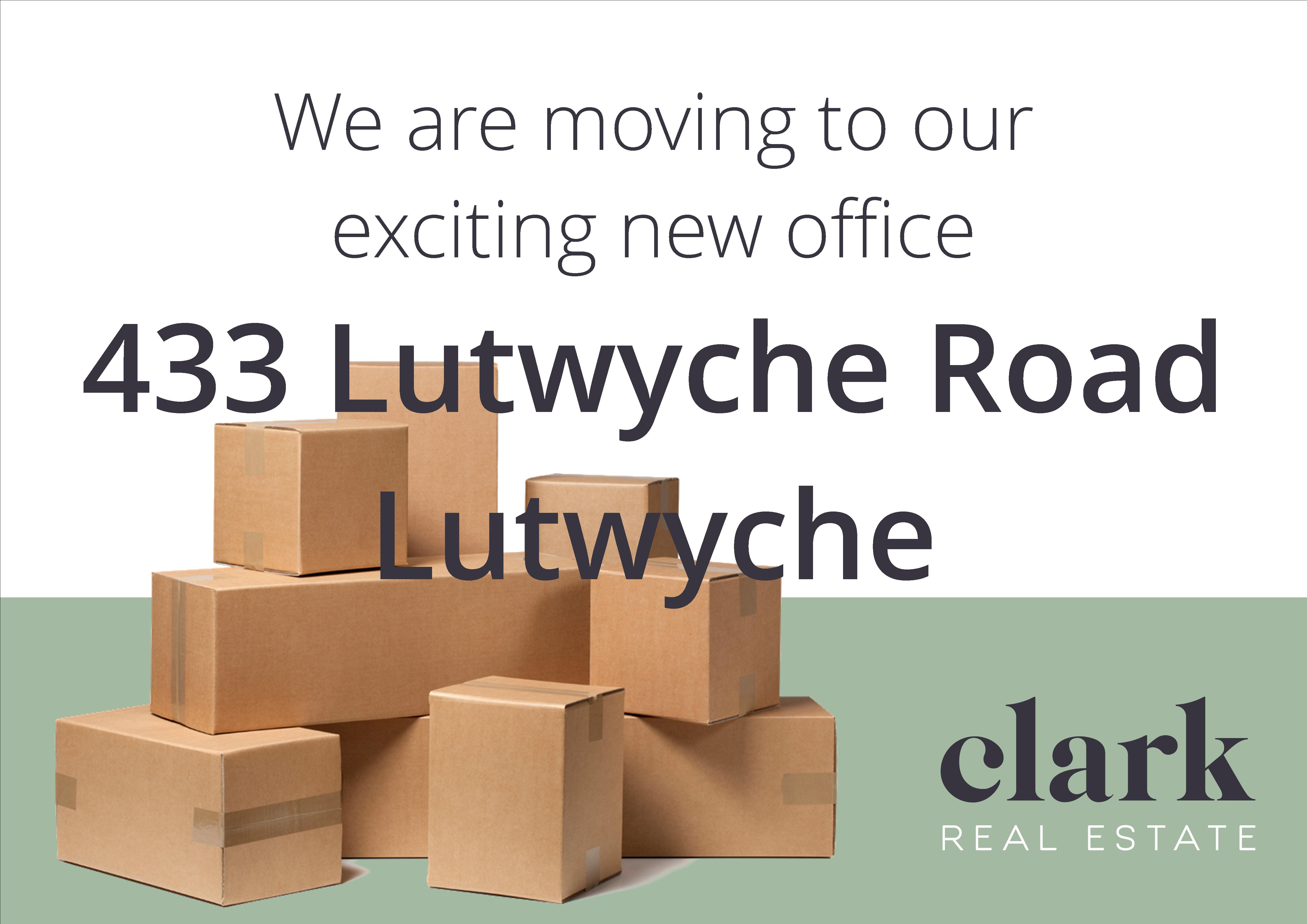 We Will Be In The New Office This Week!