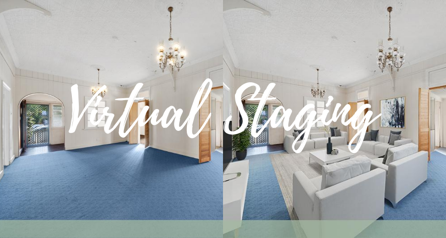 Virtual home staging…